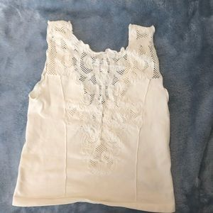 Intimately by Free People cream crop top